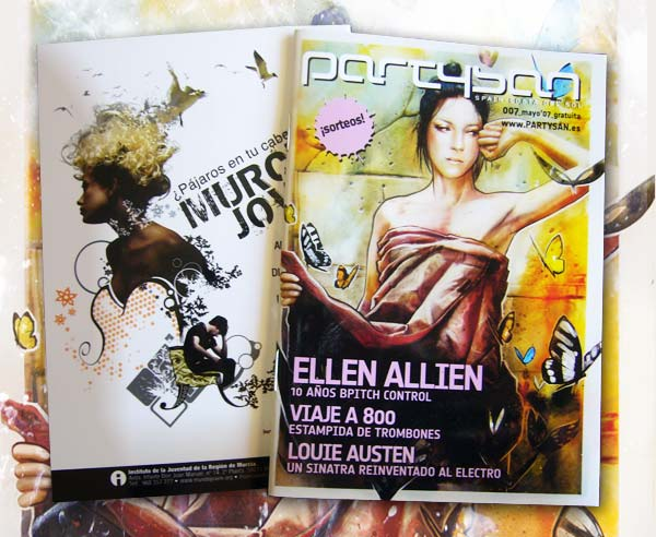 Couverture Partysan, Ellen Allien