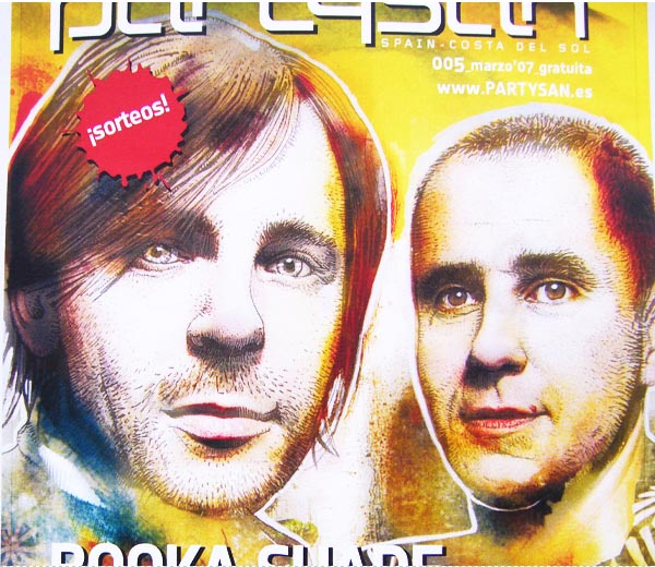 Booka Shade - Partysan Spain Cover #005
