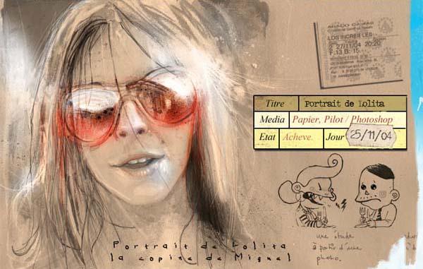 Portrait de Lolita